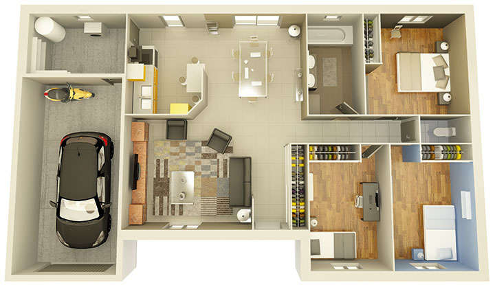 maisons personnalisable maison pdv crealine 3 mdcrea concept