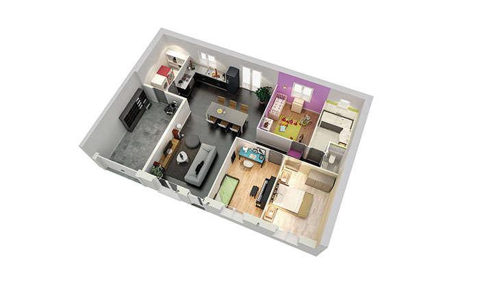 maisons personnalisable pdv creacybelle rdc mdcrea concept