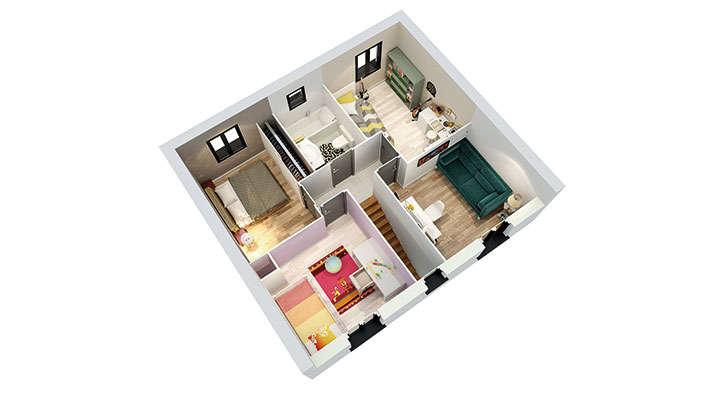 maisons personnalisable pdv creadalie r 1 mdcrea concept 1