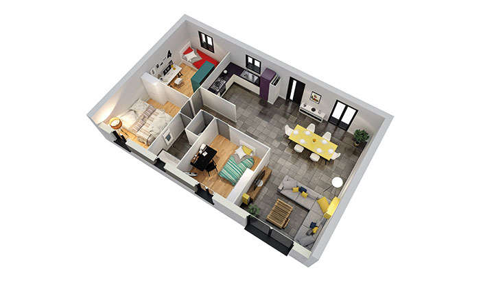 maisons personnalisable pdv creanna rdc mdcrea concept