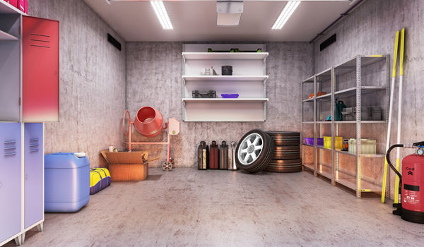 aménagement garage maison