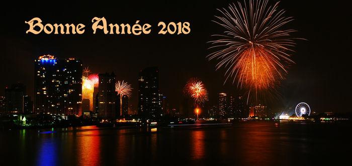 bonne annee 2018 new year